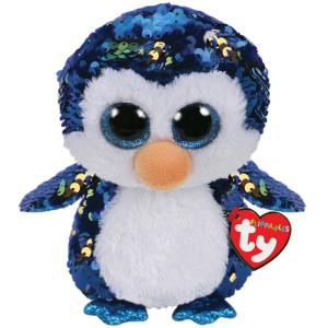 TY Flippables PAYTON Pingvin M