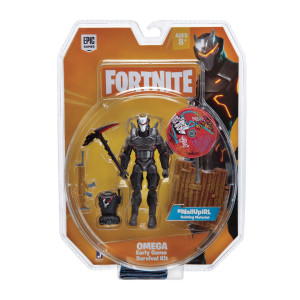 FORTNITE Early Game Survival Omega Figur med tillbehör