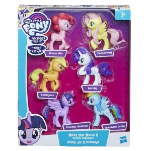 My Little Pony Meet the Mane 6-pack