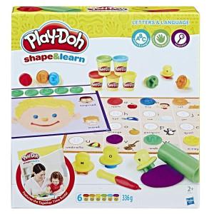 Play-Doh Bokstäver och Språk