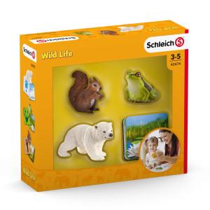 Schleich Wild Life Djur och bilder 42474
