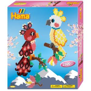 Hama Midi Gift box Papegojor 2500 st