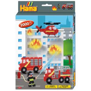 Hama Midi Box Brandbilar 2000 st