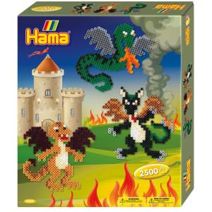Hama Midi Gift box Drakar 2500 st