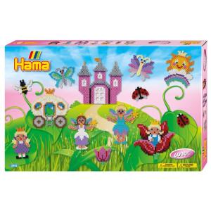 Hama Midi Giant gift box Fairies 6000 st