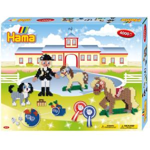 Hama Midi Gift box Ridskola 4000 st