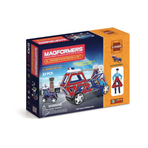 Magformers XL Cruiser Emergency Set