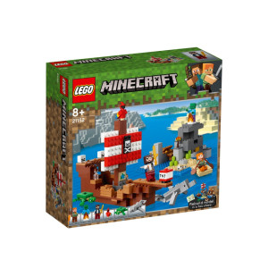 LEGO® Minecraft™ Piratskeppsäventyr 21152