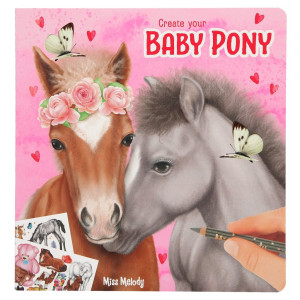 Miss Melody Create Your Baby Pony Målarbok