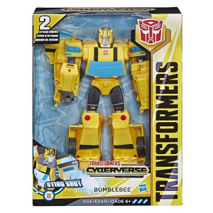 Transformers Cyberverse Ultimate Class Bumblebee