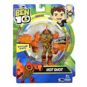 Ben 10 Figur Hot Shot