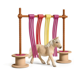 Schleich Miljöträningshinder Ponny 42484