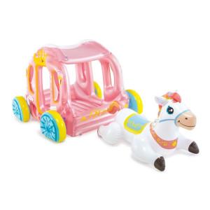 INTEX Prinsessvagn med häst