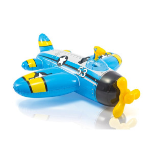 INTEX Flygplan med vattenpistol Badleksak