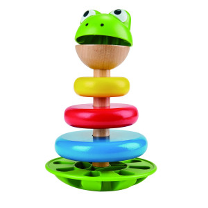 Hape Mr. Frog Stapelleksak
