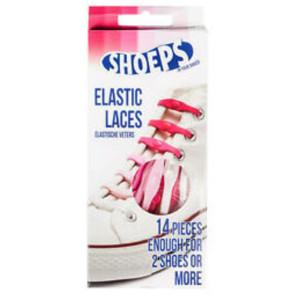 Shoeps Elastiska Skosnören Rosa Mix