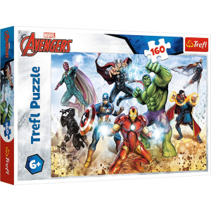 Avengers Ready to save the world Pussel 160 bitar 15368