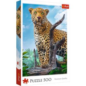 Trefl Wild Leopard Pussel 500 bitar 37332
