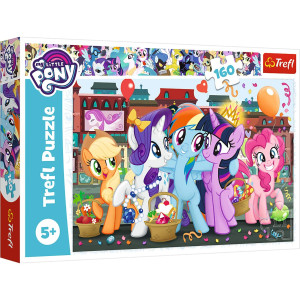 My Little Pony Ponies on shopping Pussel 160 bitar