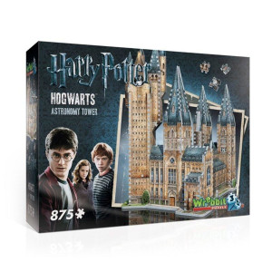 Harry Potter 3D Pussel Hogwarts Astronomy Tower 875 bitar