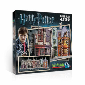 Harry Potter 3D Pussel Diagon Alley 450 bitar