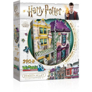 Harry Potter 3D Pussel Madam Malkin´s & Florean Fortescue´s Ice Cream 290 bitar