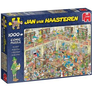 Jan Van Haasteren The Library Pussel 1000 bitar 19092
