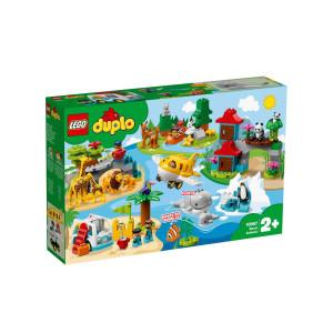 LEGO® Duplo Världens djur 10907