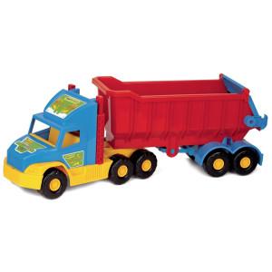 Wader Super Truck Lastbil Rött släp