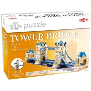 Tower Bridge 3D Pussel 120 bitar