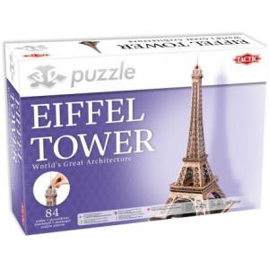Eiffel Tower 3D Pussel 84 bitar