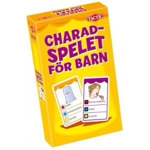 Charadspelet för barn Resespel