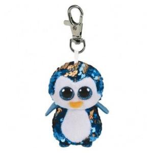 TY Flippables Clip PAYTON Blå Pingvin