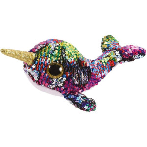 TY Flippables CALYPSO Narwhal reg