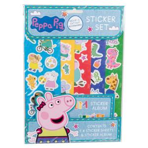 Greta Gris Stickers och Stickeralbum