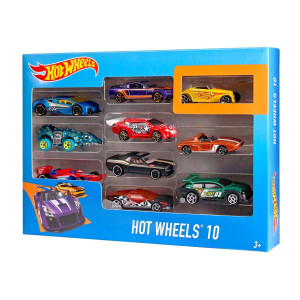 Hot Wheels 10-pack bilar 54886