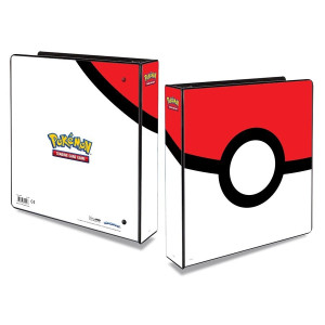 Pokemon Album Pokeball inkl. plastfickor Ultra Pro 411220