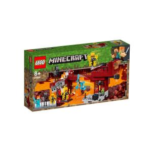 LEGO® Minecraft Den flammande bron 21154