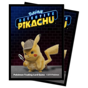 Pokemon Deck Protector sleeves Detective Pikachu AW12134
