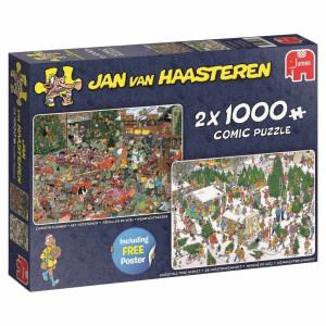 Jan Van Haasteren Christmas 2x1000 bitar 19080