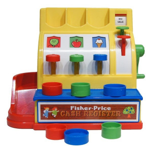 Fisher Price Retro Kassaapparat