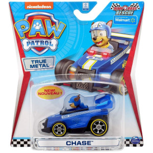 Paw Patrol True Metal 1-pack CHASE Ready Race