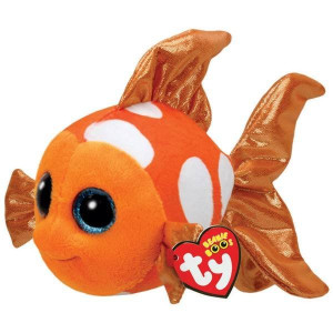 TY Beanie Boos Reg Sami Orange Fisk