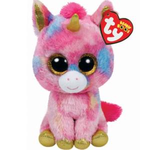 TY Beanie Boos M Fantasia multicolor unicorn
