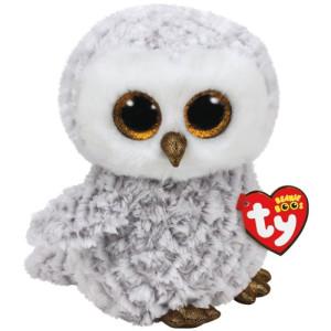 TY Beanie Boos M Owlette Vit Uggla