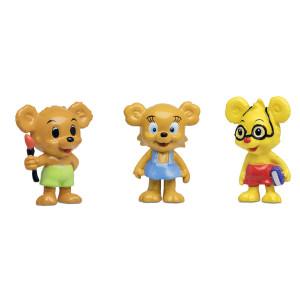 Bamse Figurset - Nalle-Maja, Brum & Teddy