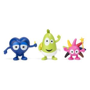Babblarna Figurset 2 Diddi, Dadda & Doddo