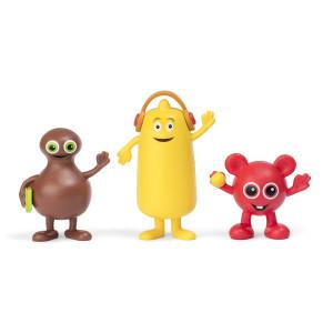Babblarna Figurset 1 Bobbo, Bibbi & Babba