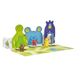 Babblarnas Hus 1 - Grönt, Blått och Lila