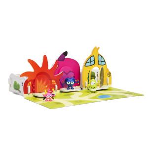 Babblarnas Hus 2 - Rött, Rosa och Gult